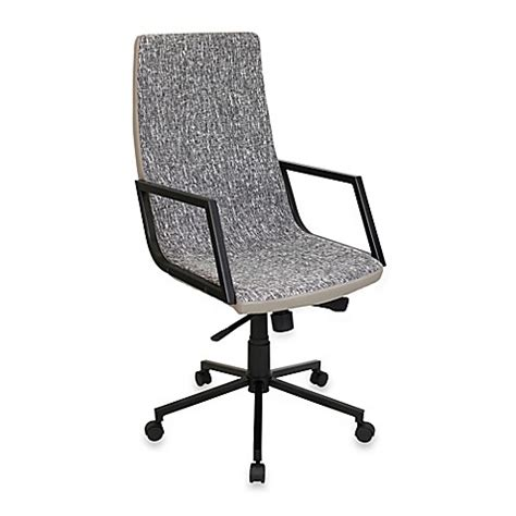 bed bath and beyond desk chair buy lumisource senator office chair in charcoal from bed