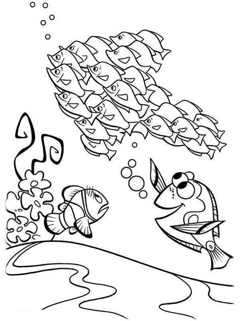 finding nemo coloring pages   print finding