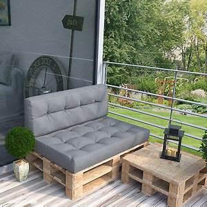 details zu palettenkissen kaltschaum kissen palettensofa With französischer balkon mit kissen für garten