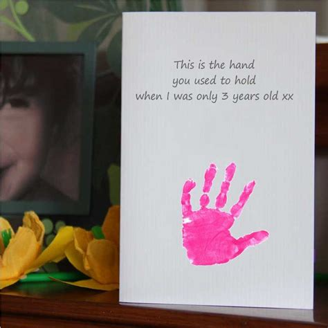 s day handprint card ideas great idea for a mothers day or birthday card see our
