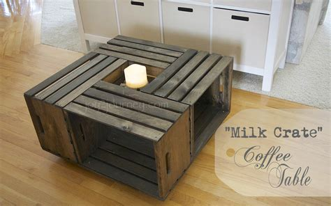 Crates Coffee Table  Home Design