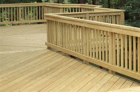 Pressure Treated Wood Deck Boards