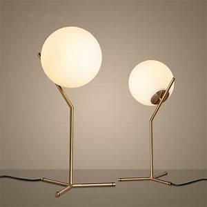 Lampe De Chevet Boule : lampe de chevet boule en verre ampoule chevet marchesurmesyeux ~ Teatrodelosmanantiales.com Idées de Décoration