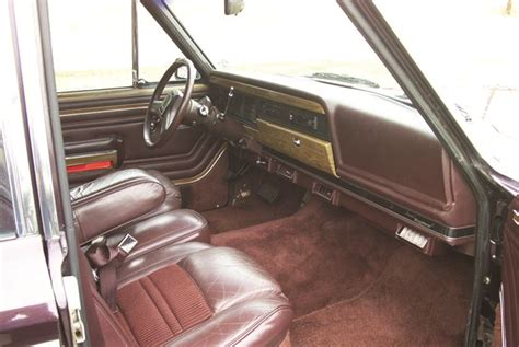 1991 jeep wagoneer interior 1991 jeep grand wagoneer pictures cargurus