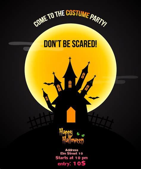 psd halloween party flyer designs jpg vector
