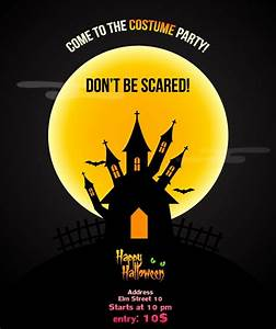 16  Free Psd Halloween Party Flyer Designs