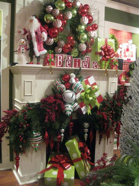 Mantels Dressed For Christmas And A Link Party Celebrate