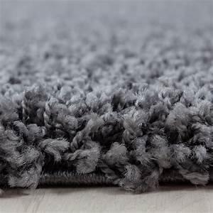 Teppich Langflor Grau : hochflor shaggy teppich langflor pflegeleicht einfarbig teppich grau ebay ~ Orissabook.com Haus und Dekorationen