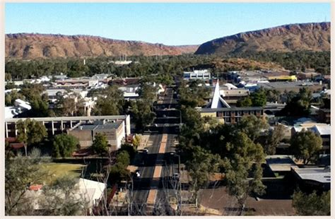top    places  alice springs