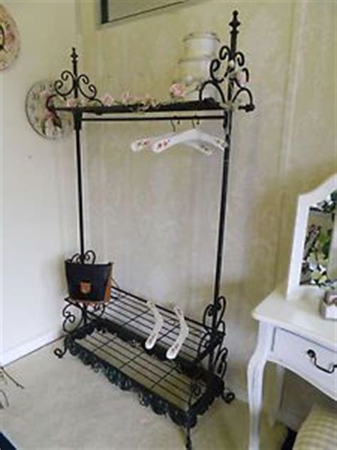 shabby chic clothes rail vintage gothic interior ideas bedroom on pinterest clothes rail dressing table mirror and