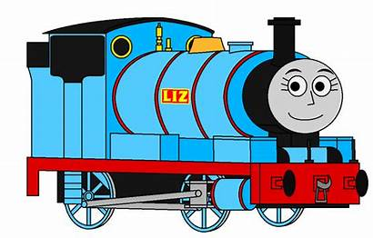 Engine Tank Thomas Clipart Liz Percyfan94 Saddle