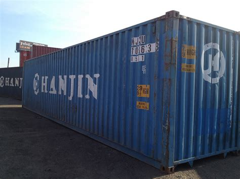 40′ Hc Shipping Containers For Sale Los Angeles