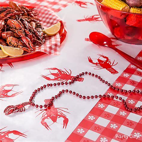 Cajun Crawfish Boil Decorations by Crawfish Table Runner Idea Cajun Crawfish Boil Ideas