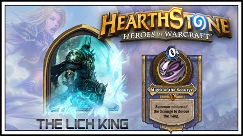 Deck Hearthstone Lich King by Hearthstone New The Lich King