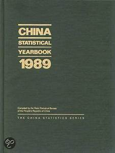 bol.com | China Statistical Yearbook 1989, State ...