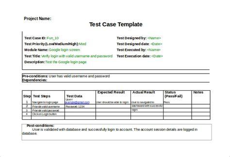 test case template peerpex