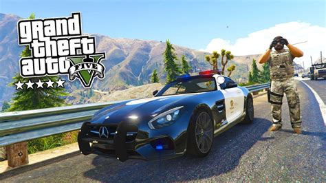 Play As A Cop Mod #15! Gta 5 Police Patrol