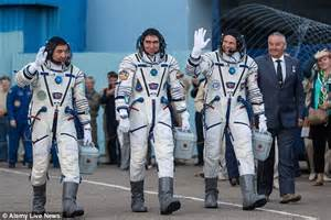Soyuz rocket embarks on journey to International Space ...