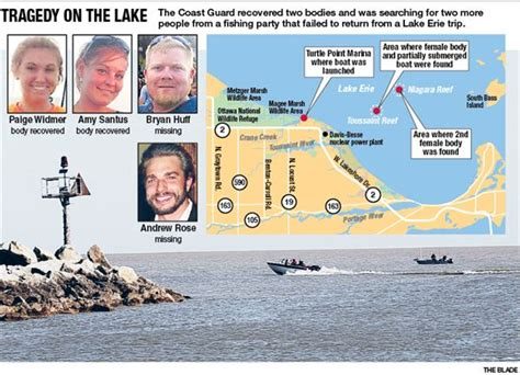 Lake Erie Boat Accident 2 found dead 2 missing after boating accident on lake