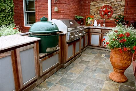 outdoor kitchen with green egg outdoor kitchen creativity what to do with that