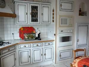 Relooker Meuble Cuisine : relooker une cuisine rustique avant apres transformer meuble cuisine delphine ertzscheid ~ Mglfilm.com Idées de Décoration