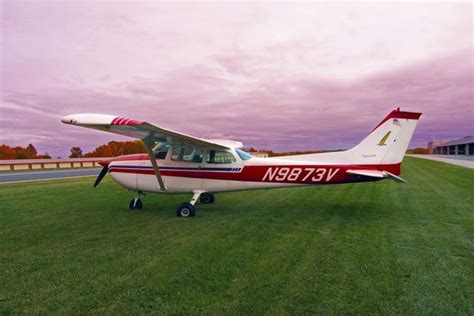 Cessna 172  Skyhawk At Chester Airport
