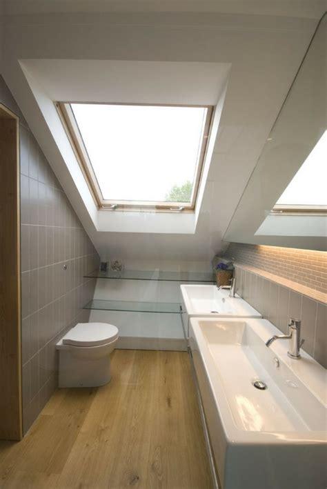 Kleines Schmales Bad Unter Dachschräge by Kleines Badezimmer Mit Schr 228 Ge