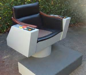 let s talk wood trek fans building their own personal captain kirk command chair