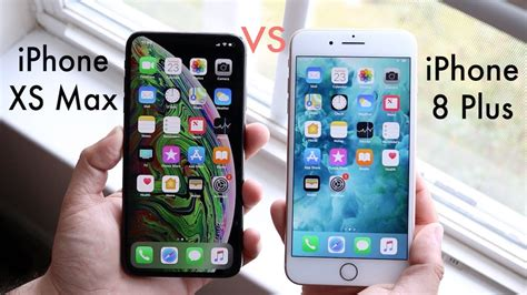 iphone xs max vs iphone 8 plus should you upgrade review