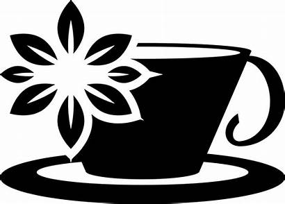 Tea Cup Svg Flower Icon Lilac Onlinewebfonts