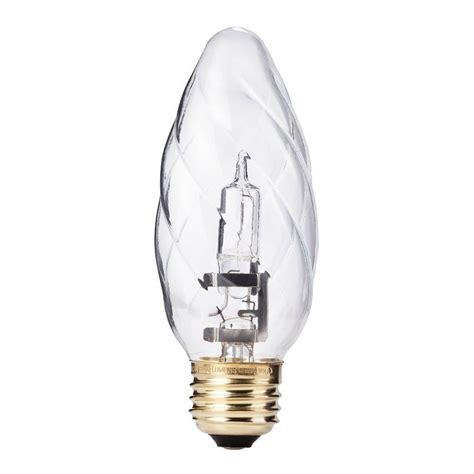 philips 100 watt equivalent halogen f15 post light bulb
