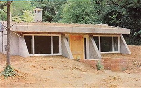 Small Underground House Plans by Partially Underground Earthbag Home Plans Underground