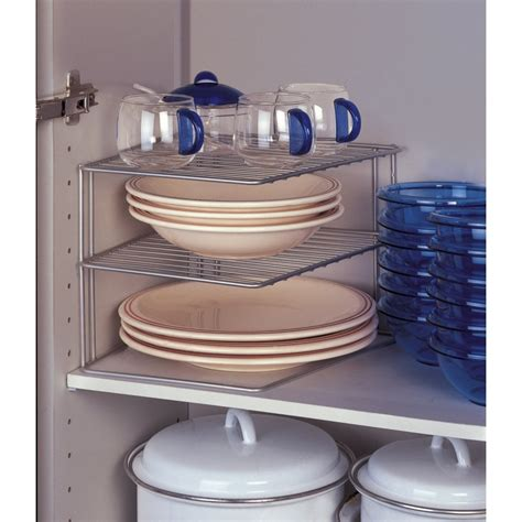 rangement angle cuisine etagère d 39 angle de placard metaltex rangement cuisine