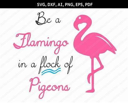 Flamingo Svg Clipart Pdf Dxf Eps Animal