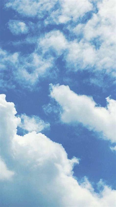 blue sky aesthetic wallpaper hd