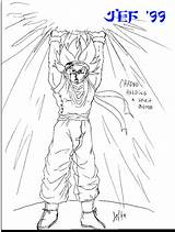 Crono Coloring Bomb Spirit Goku Holding Designlooter Kb Looking Icybrian Poo Hunky Trying Saying Hi Cute Alaer Kino sketch template