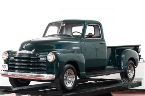4 Speed Chevy Advance Design Restored And Ready To Show
