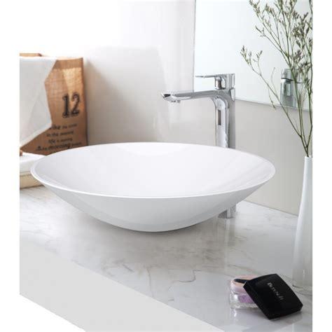 SI A02 420 OPAL Solid surface basin   Builders Choice