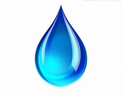 Droplet Water Drop Clip Clipart Clker Icon