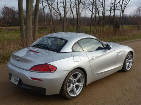 Bmw Z4 Roof Up Rear Quarter  The Truth About Cars
