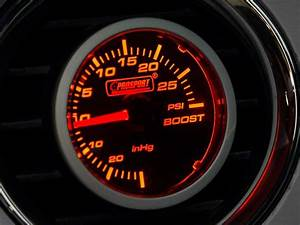 How To Install Prosport Dual Color Boost  Vac Gauge