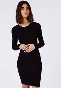 robe noire manches longues With robe noire manches longues