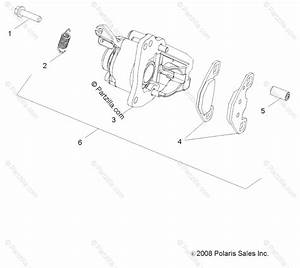 Polaris Side By Side 2016 Oem Parts Diagram For Brakes