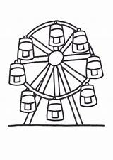 Wheel Ferris Coloring Pages Colouring Designlooter 794px 54kb sketch template
