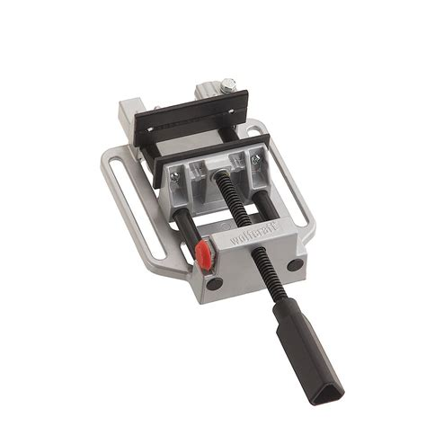 wolfcraft  quick jaw drill press vise  table clamp