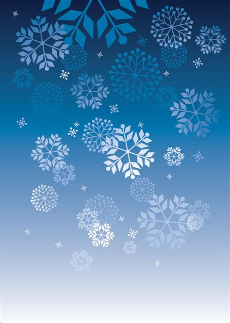 snowflake  poster templates backgrounds