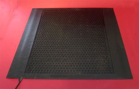 Martinson Nicholls Heated Entrance and Work Mats Provide