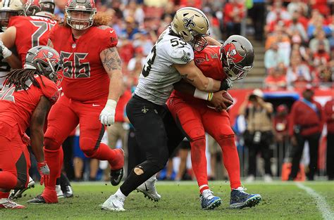 disappointing saints  buccaneers pewter report