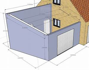 construction garage parpaing plan evtod With plan de garage en parpaing