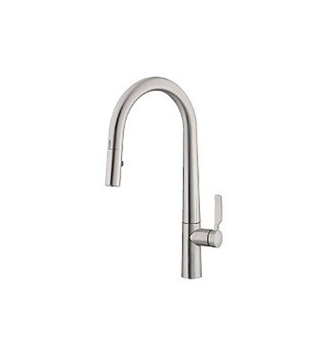 electronic kitchen faucet danze d423507ss did u wave single handle electronic kitchen faucet in stainless steel